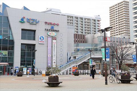 ①JR・地下鉄新長田駅すぐの東急プラザへ