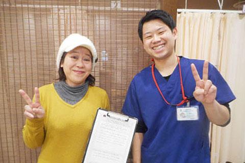 M.K様 50歳女性(姿勢矯正、骨盤矯正)