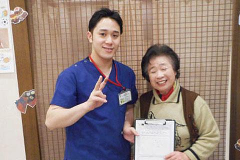 F.M様 81歳女性(骨盤矯正)